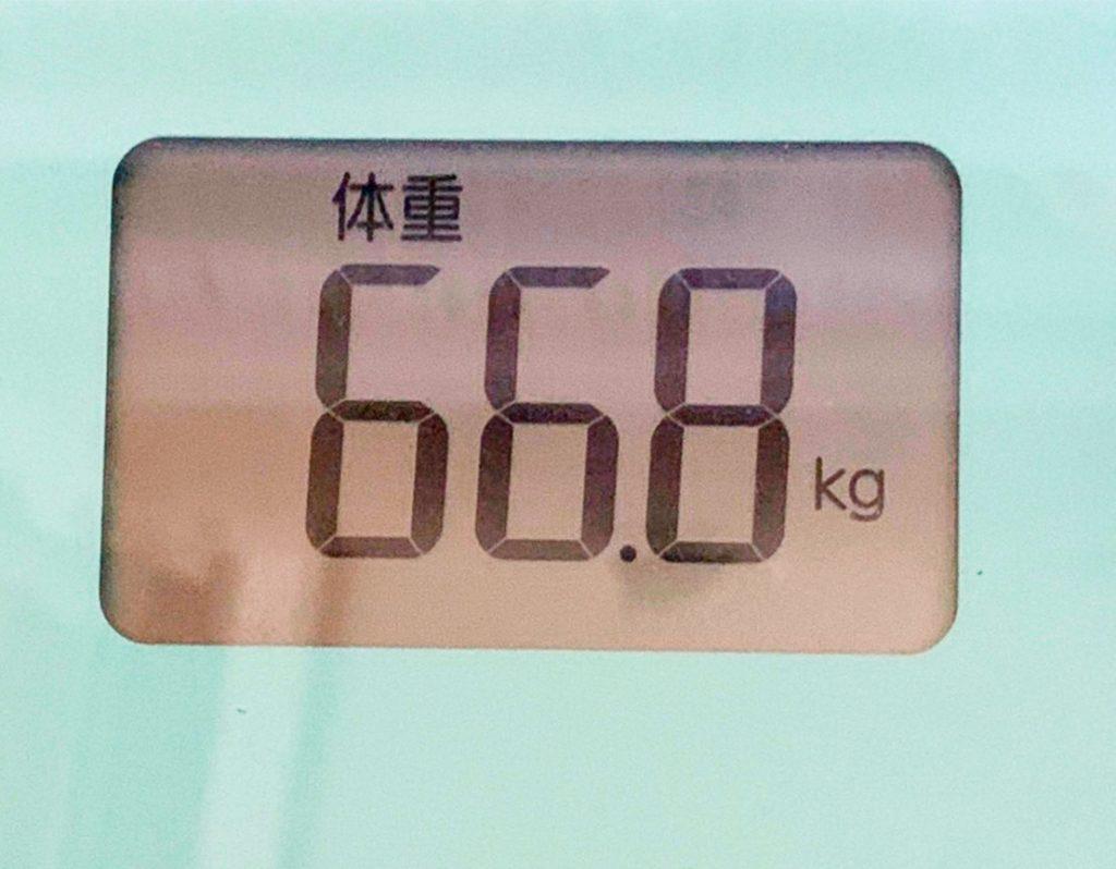 体重は増えている